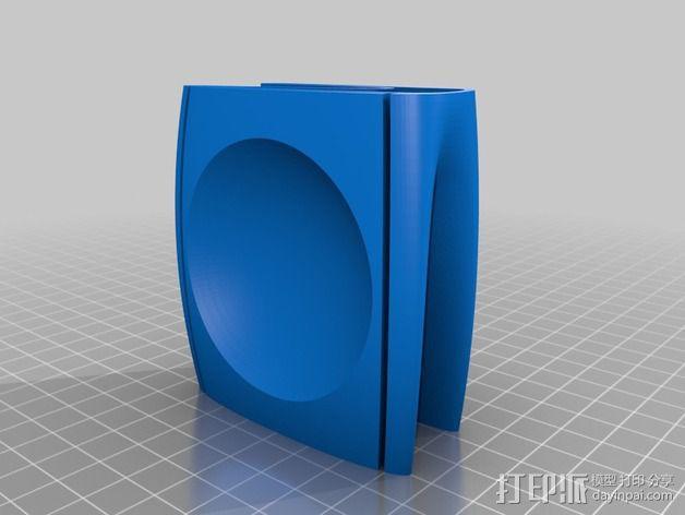 迷你小饰品底座 3D模型  图5