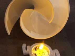 LED茶灯灯罩 3D模型