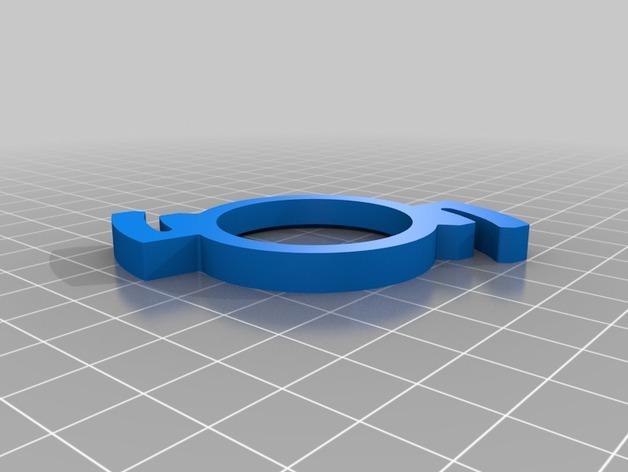 LED茶灯灯罩 3D模型  图3