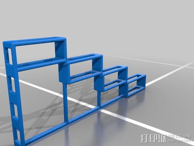 简易香料架 3D模型  图2