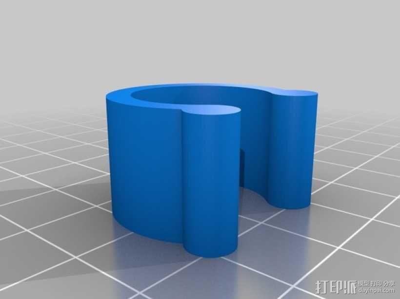 定制化U形夹 3D模型  图3