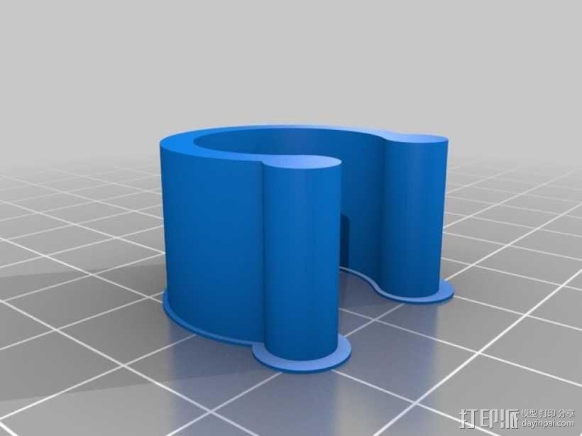 定制化U形夹 3D模型  图2