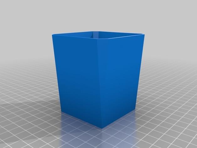 厨房花盆内衬 3D模型  图2