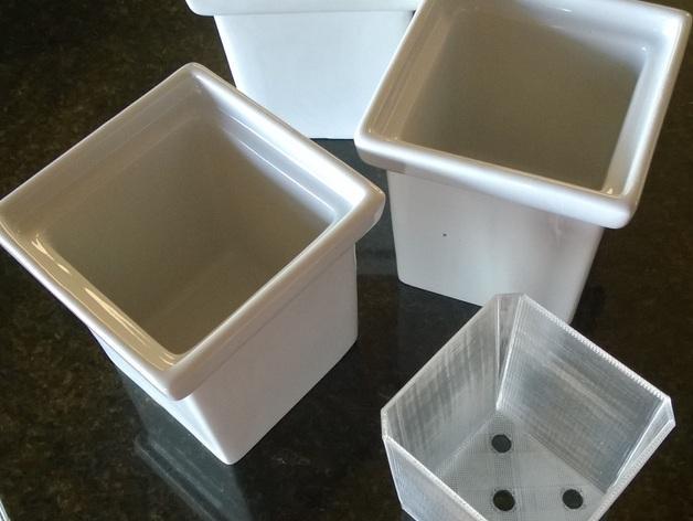 厨房花盆内衬 3D模型  图3