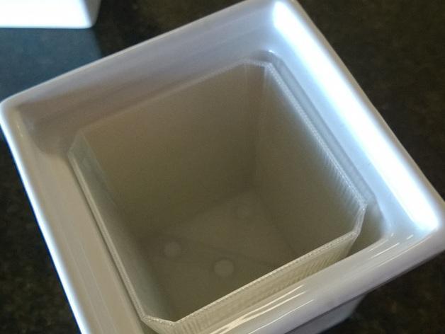 厨房花盆内衬 3D模型  图4