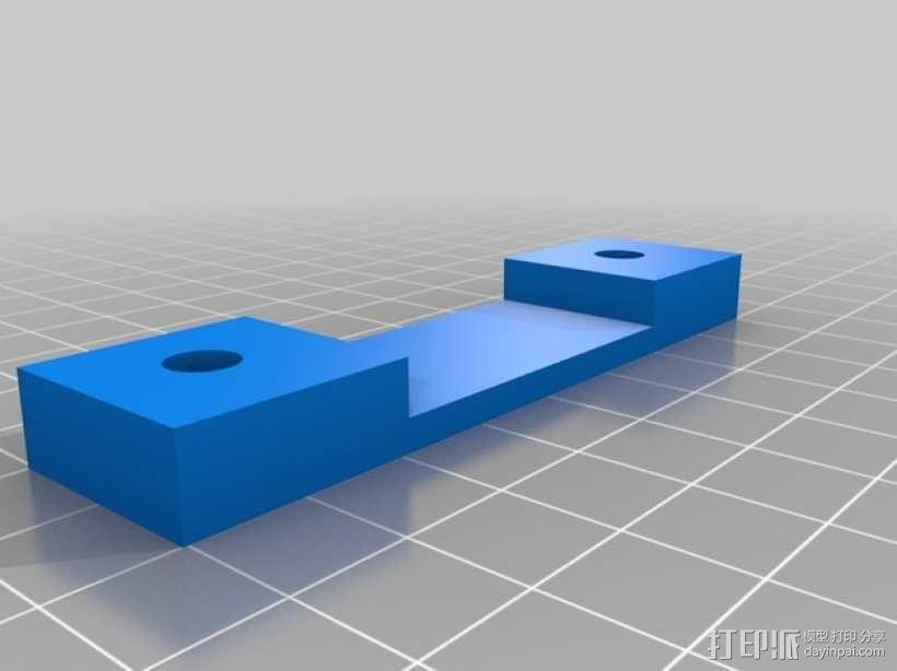 休闲椅杯架 3D模型  图4