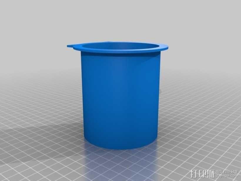 休闲椅杯架 3D模型  图5