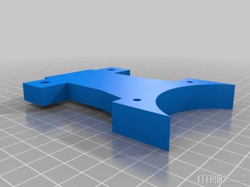 休闲椅杯架 3D模型  图6