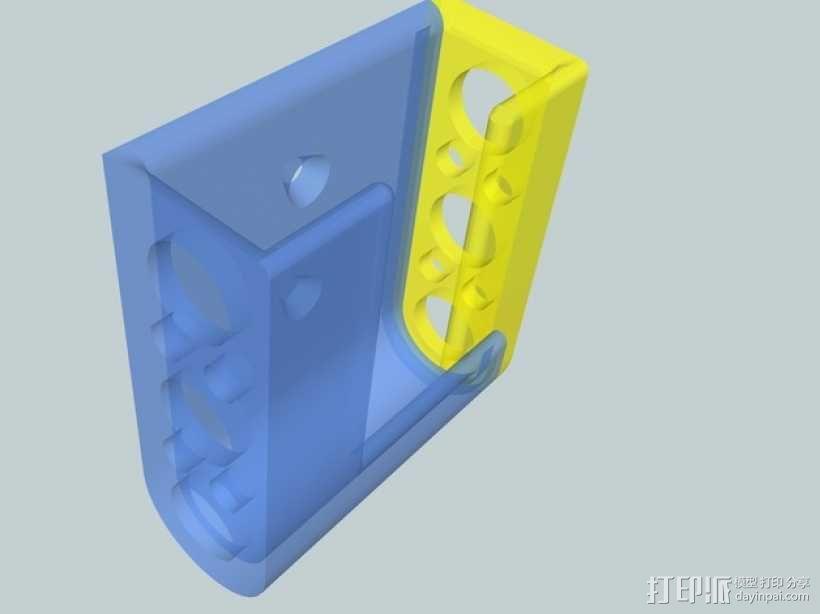 壁挂式戴森DC30真空吸尘器 3D模型  图1