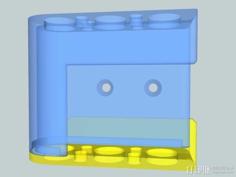 壁挂式戴森DC30真空吸尘器 3D模型  图4