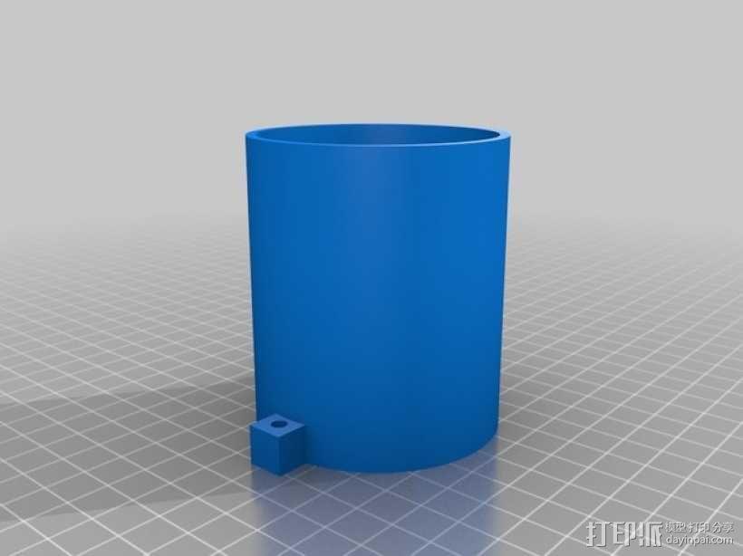简易咖啡豆捣碎机 3D模型  图7