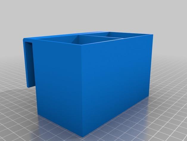 冰箱巧克力架 3D模型  图2