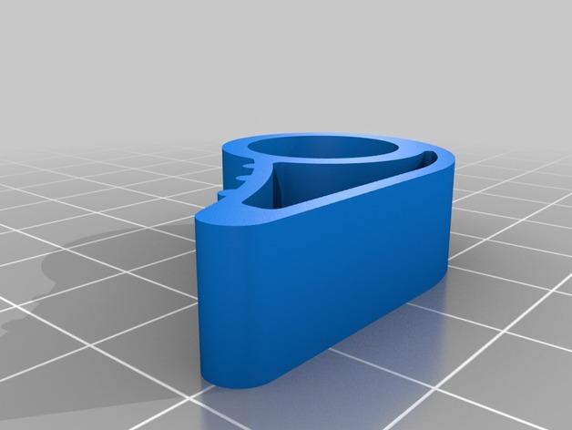 迷你门档 3D模型  图2