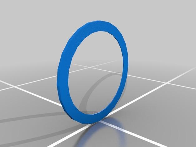迪士尼螺旋桨形钟表框架 3D模型  图2