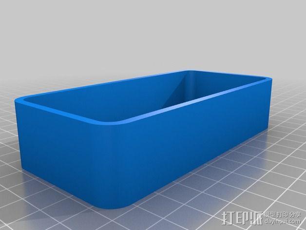 雨量测量器延伸装置 3D模型  图3