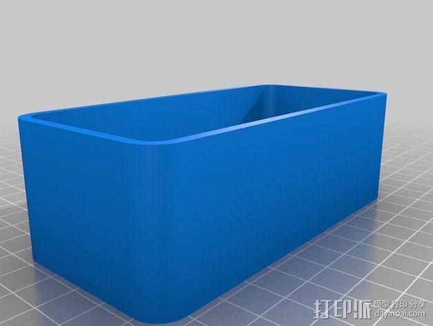雨量测量器延伸装置 3D模型  图5
