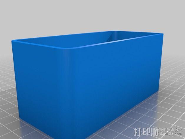 雨量测量器延伸装置 3D模型  图6
