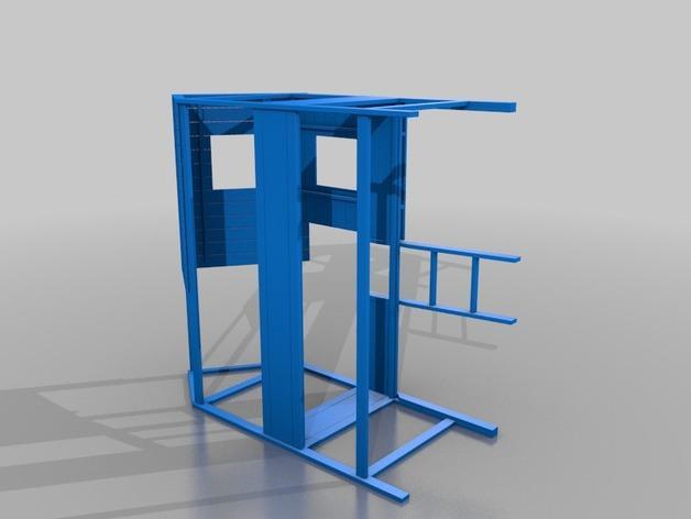 迷你小床 3D模型  图2