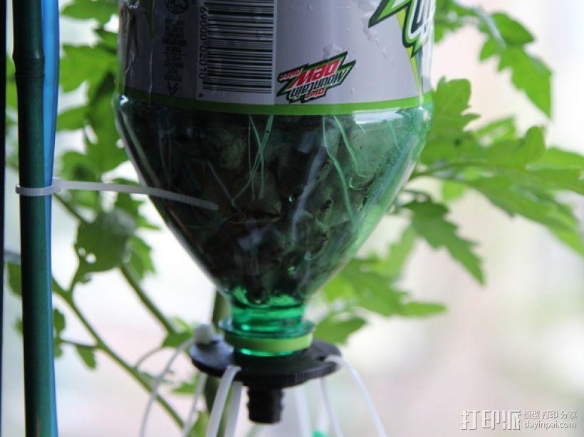 水培系统:塑料瓶制浇水装置 3D模型  图6