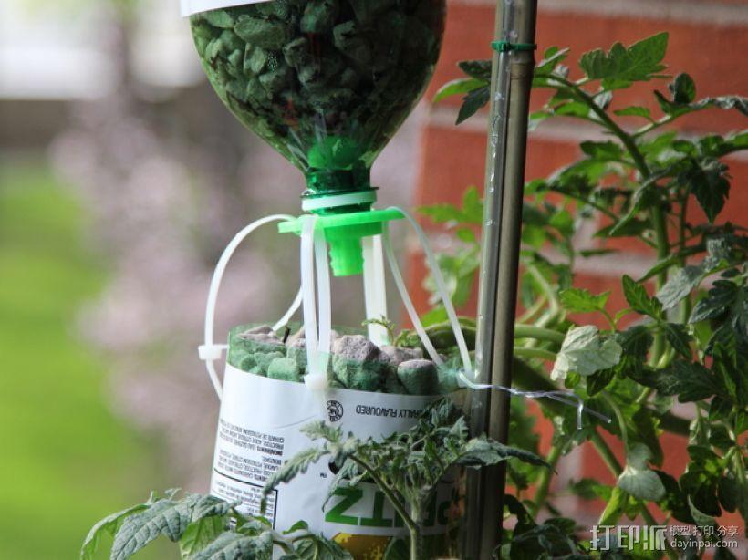 水培系统:塑料瓶制浇水装置 3D模型  图7