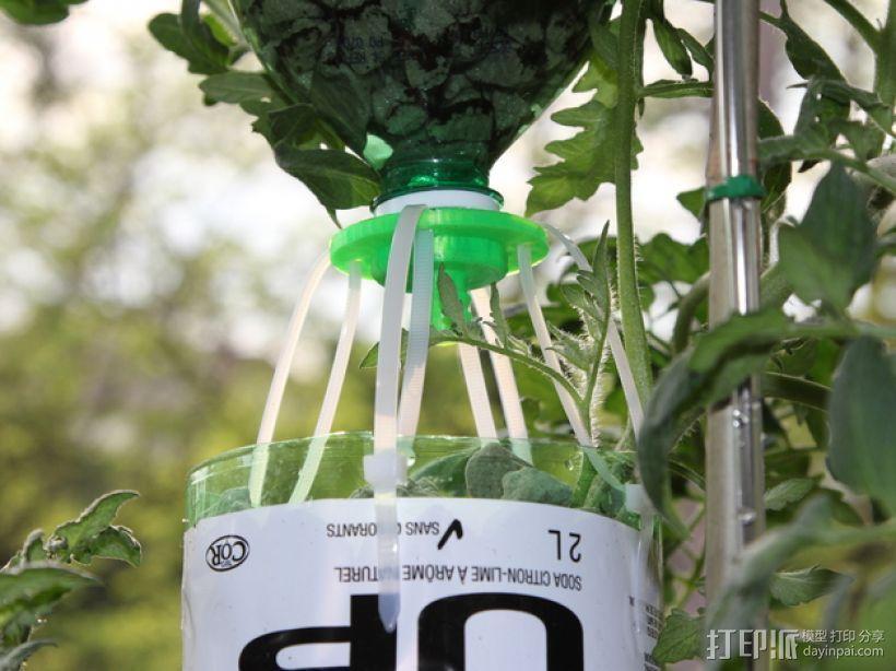 水培系统:塑料瓶制浇水装置 3D模型  图10
