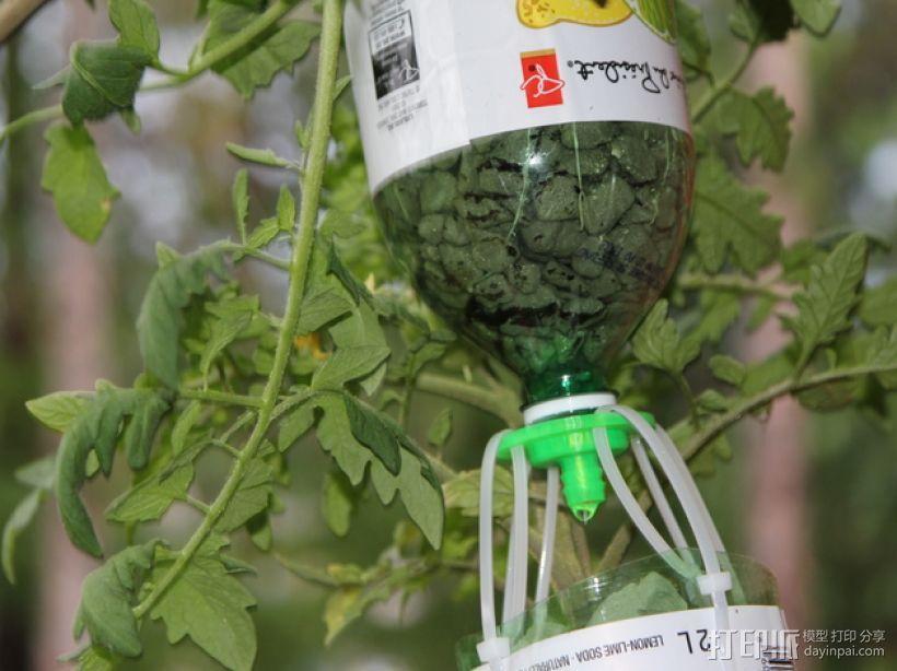 水培系统:塑料瓶制浇水装置 3D模型  图13