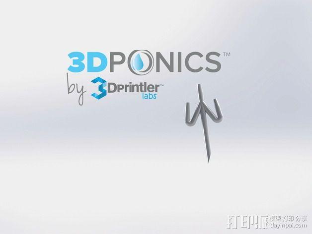 水培系统:管道 3D模型  图3