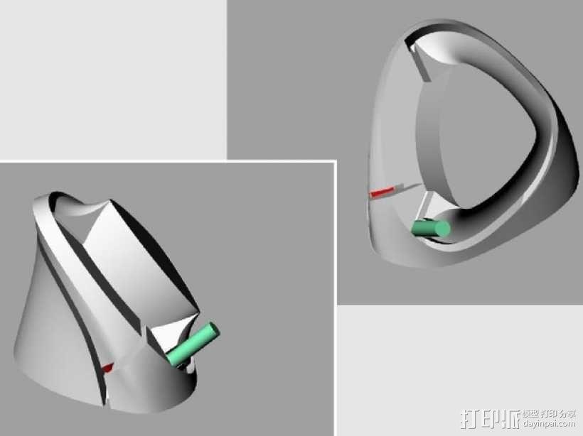 手表架 3D模型  图4