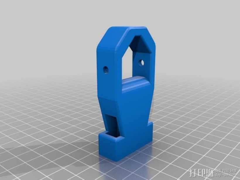 背包带扣 3D模型  图2
