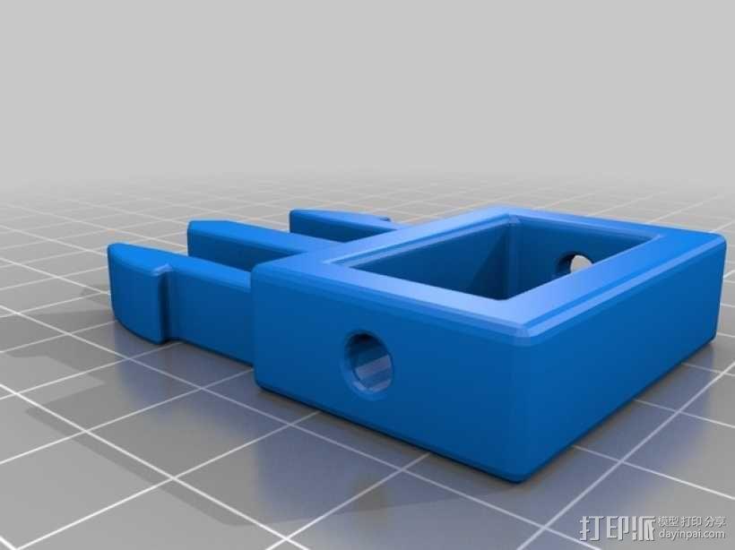 背包带扣 3D模型  图3