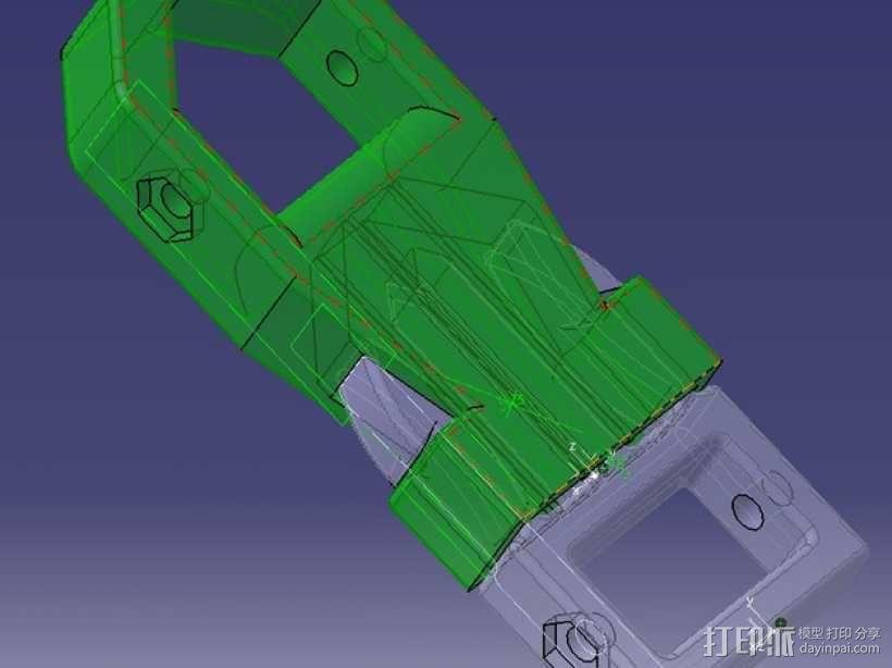 背包带扣 3D模型  图6