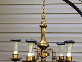 劳氏太阳能枝形吊灯电灯泡配适器 3D模型