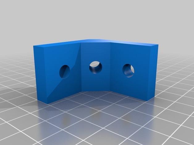 模块化桌角 3D模型  图3