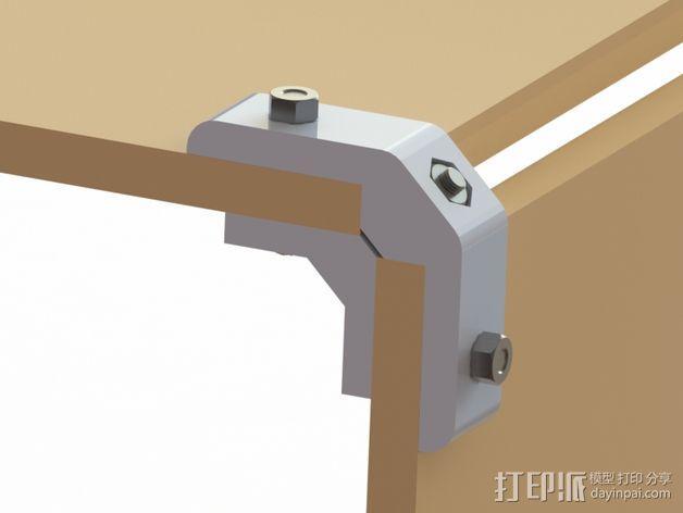 模块化桌角 3D模型  图4