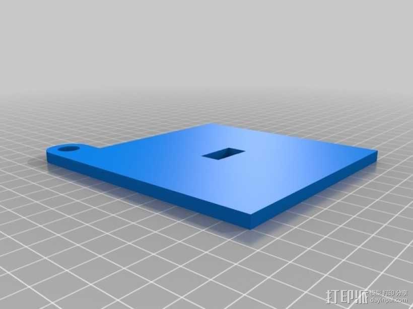 迷你捐赠箱 3D模型  图2