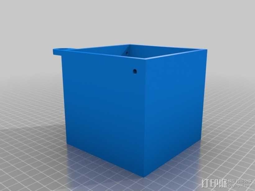 迷你捐赠箱 3D模型  图3