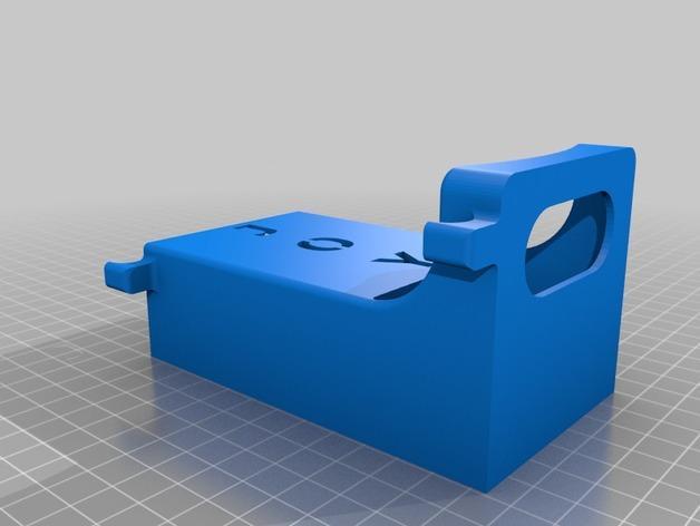 宠物粪便袋架 3D模型  图2