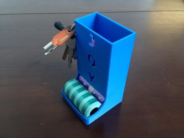 宠物粪便袋架 3D模型  图9