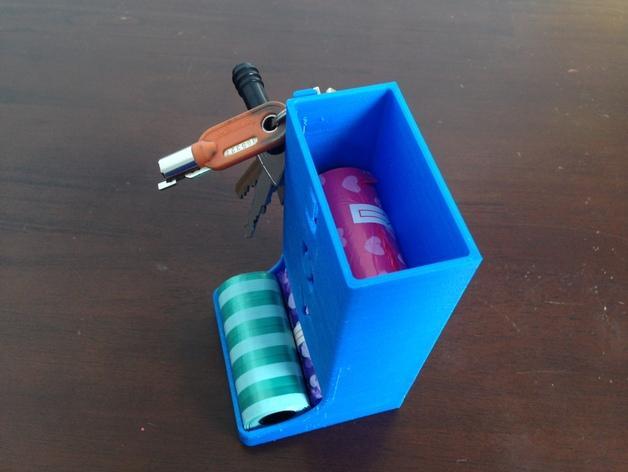 宠物粪便袋架 3D模型  图7