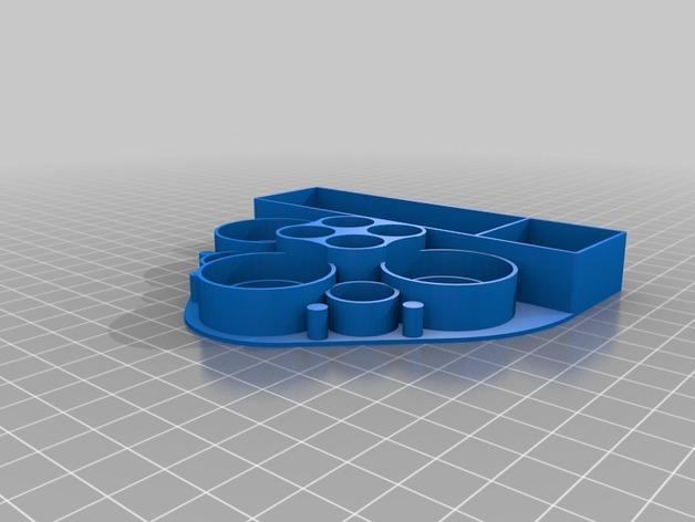 多功能电子烟架 3D模型  图3