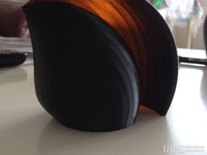 海贝形灯罩 3D模型  图1