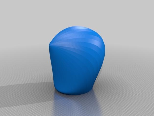 海贝形灯罩 3D模型  图4