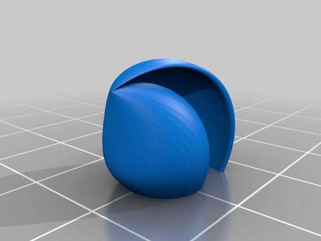 海贝形灯罩 3D模型  图7