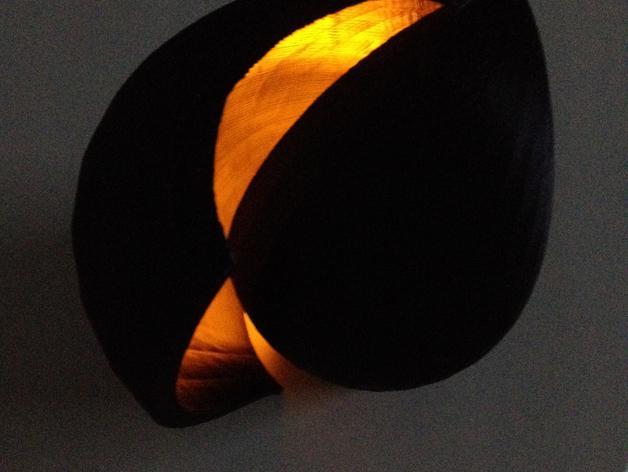 海贝形灯罩 3D模型  图15