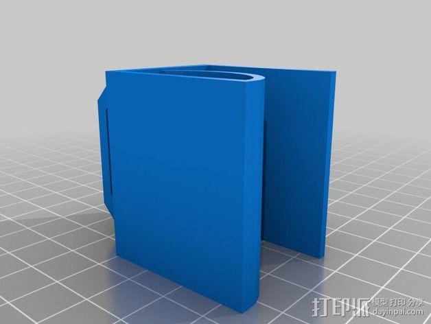 桌面绕线器 3D模型  图2