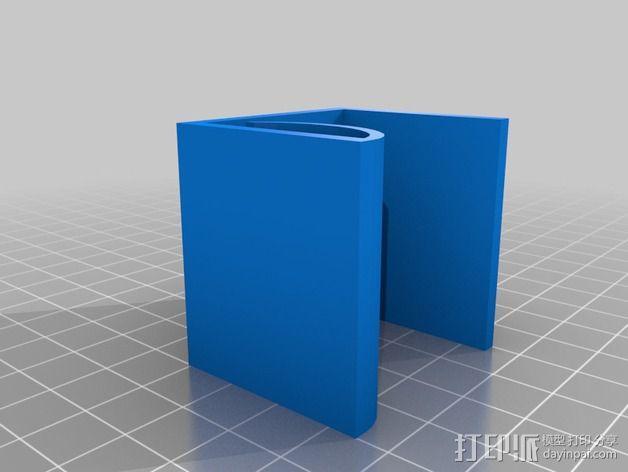 桌面绕线器 3D模型  图3