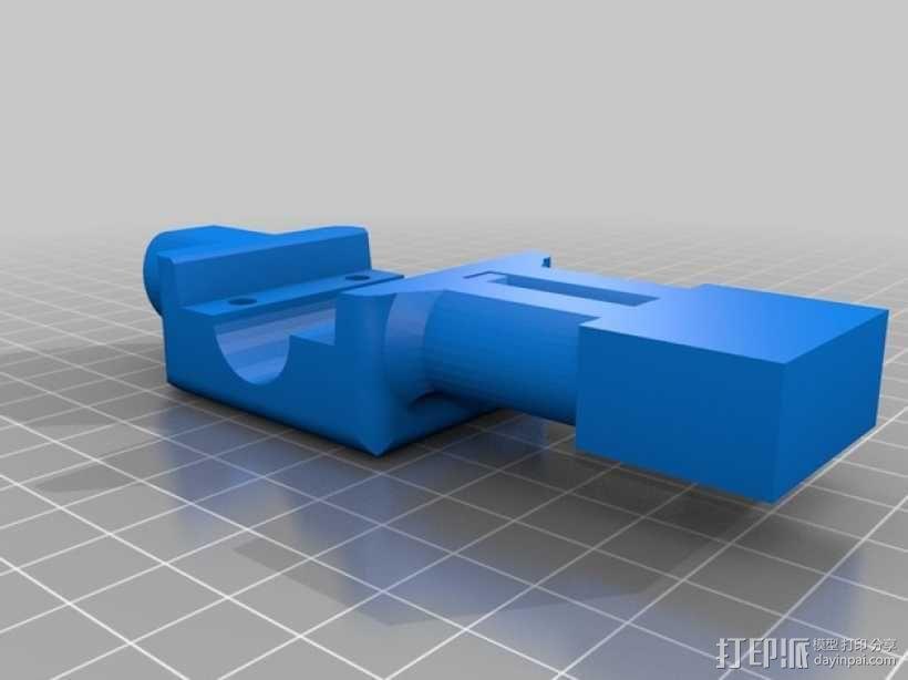 桌式足球玩偶运动员 3D模型  图3