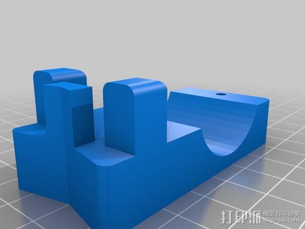 烧烤架闪光灯架 3D模型  图3