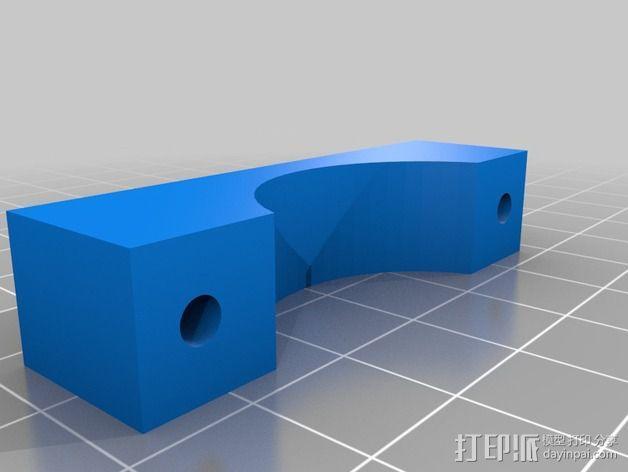 烧烤架闪光灯架 3D模型  图4