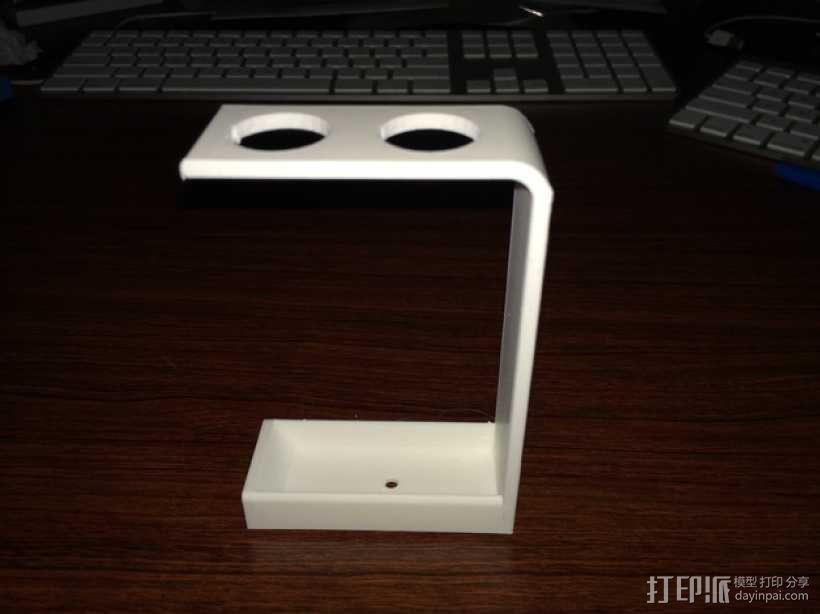 简易牙刷架 3D模型  图3